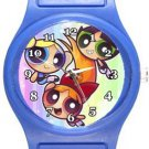 Powerpuff Girls Blue Plastic Watch