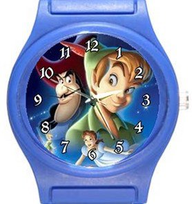 Peter Pan Blue Plastic Watch
