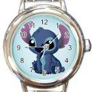 Lilo & Stitch Round Italian Charm Watch
