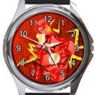 The Flash Round Metal Watch