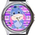 Baby Eeyore Round Metal Watch