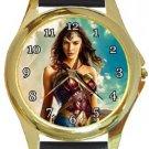 Wonder Woman 2017 Gold Metal Watch