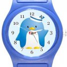 Tuxedo Sam Blue Plastic Watch