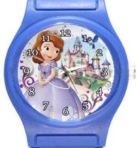 Princess Sophia Blue Plastic Watch