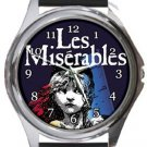 Les Miserables Round Metal Watch