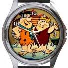 Flintstones Round Metal Watch