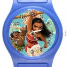Moana In Action Blue Plastic Watch