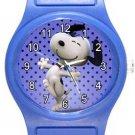 Snoopy Dance Blue Plastic Watch