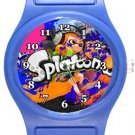 Splatoon Blue Plastic Watch