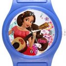 Elena Blue Plastic Watch