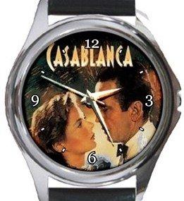 Casablanca Round Metal Watch
