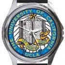 University of California UCLA Round Metal Watch
