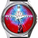 Star Wars The Last Jedi Round Metal Watch