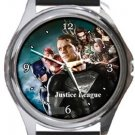 Justice League Team Round Metal Watch