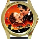 Gone With The Wind Gold Metal Watch