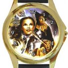 The Wizard of Oz Gold Metal Watch