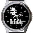 The Godfather Round Metal Watch