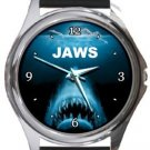 Jaws Round Metal Watch