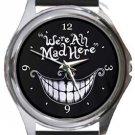 Mad Round Metal Watch