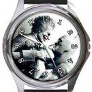 Batman and Joker Round Metal Watch