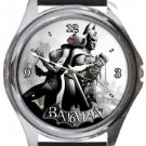 Batman and Catwoman Round Metal Watch