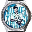 Messi Round Metal Watch