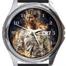 Cristiano Round Metal Watch
