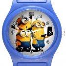 Minions Selfie Blue Plastic Watch