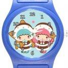 Little Twin Stars Blue Plastic Watch