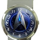 Star Trek Logo Money Clip Watch