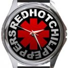 Red Hot Chili Peppers Round Metal Watch
