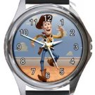 Woody Toy Story Round Metal Watch