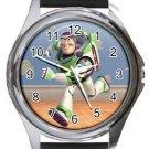 Buzz Lightyear Toy Story Round Metal Watch