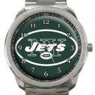 New York Jets Sport Metal Watch