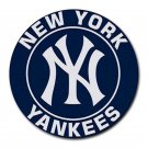 New York Yankees Heat-Resistant Round Mousepad