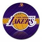 LA Lakers Heat-Resistant Round Mousepad