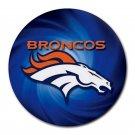Denver Broncos Heat-Resistant Round Mousepad