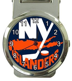 New York Islanders Money Clip Watch
