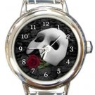 Phantom of the Opera Round Italian Charm Watch