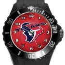 Houston Texans Plastic Sport Watch In Black