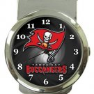 Tampa Bay Buccaneers Money Clip Watch