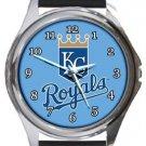 Kansas City Royals Round Metal Watch
