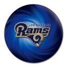 Los Angeles Rams Heat-Resistant Round Mousepad