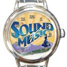 The Sound of Music Round Italian Charm Watch