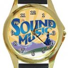 The Sound of Music Gold Metal Watch