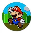 Super Mario Heat-Resistant Round Mousepad