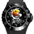 Pacman Plastic Sport Watch In Black