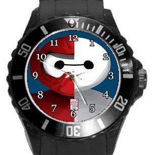 Baymax Big Hero 6 Plastic Sport Watch In Black