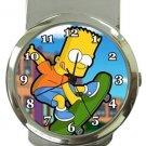 Bart Simpson Money Clip Watch