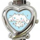 Cinnamoroll Heart Italian Charm Watch